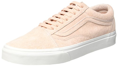 Vans Damen Old Skool Laufschuhe, Pink (Spanish Villa/Blanc De Blancpig Suede), 42 EU