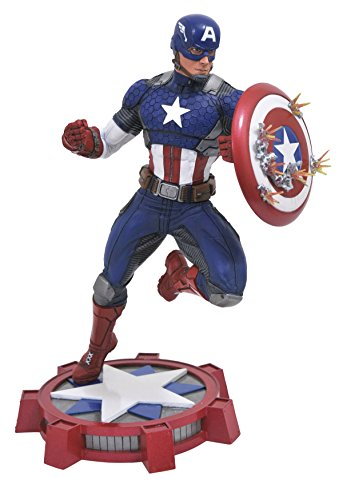 DIAMOND SELECT TOYS Marvel Gallery: Marvel Now! Captain America PVC Vinyl Figure