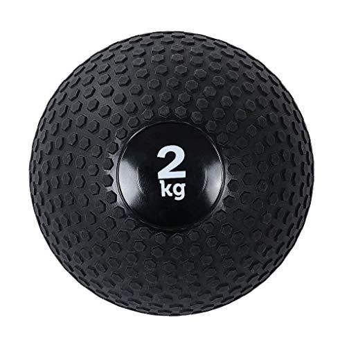 BH Crossfit Medicine Ball Snatch Solid Handball Dumbbell Ball Heavy Duty Ejercicio Levantamiento de Cintura y Abdomen Entrenamiento 23CM 28CM