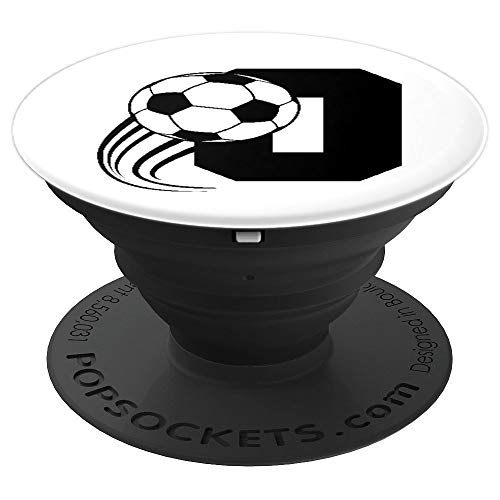 Soccer Letter O PopSockets Grip and Stand for Phones and Tablets