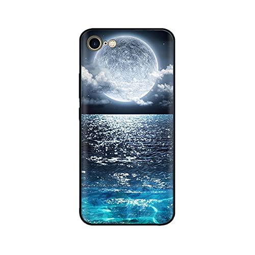 XLLXPZ Carcasa de Silicona para teléfono, para iPhone SE 20206s 6 S Plus