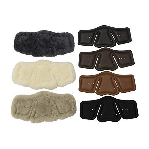 Stübben Equi-Soft® Polster für Sattelgurt - Einheitsgröße 50-150cm - Neopren schwarz