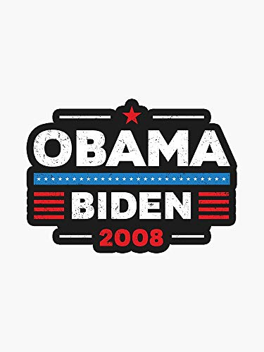 Obama Tee, Joe Biden, Obama, Obama Biden, I Miss Barack, Obama, I Miss Obama, Biden for President, Biden 2020, Political Window Decal Vinyl Bumper Sticker 5'