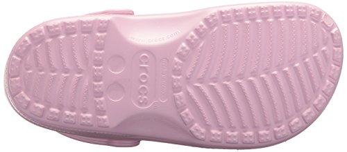 crocs Women's Classic Mule Ballerina Pink – 5 US Men/ 7 US Women M US