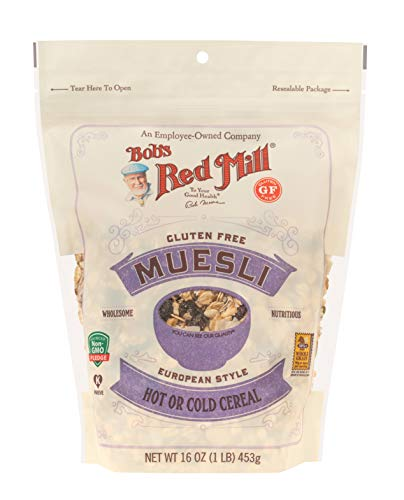 Bob's Red Mill Gluten Free Muesli, 16 Ounce Bag (Package May Vary)