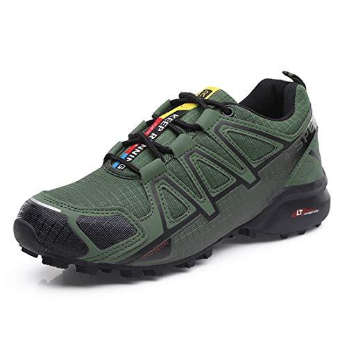 Scarpe da Montagna Uomo Scarpe da Trekking Trail Running Traspirante Scarpe da Escursionismo Antiscivolo Scarpe da Arrampicata Speedcross 4