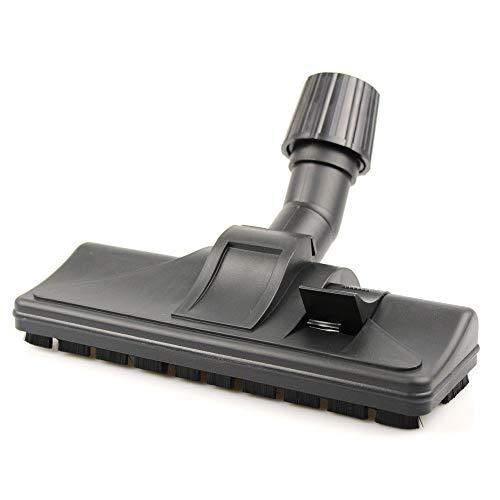 Boquilla universal para aspiradora, boquilla combinada, cepillo de suelo – con conector Vario – conmutable – adecuado para AEG, Electrolux, Bosch, Einhell, Miele, Kärcher, LG, Nilfisk, Siemens, etc.