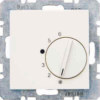 Berker Raumtemperaturregler mit W 20268982 echsler und Zentrals B.1;B.3;B.7;S.1 Raumtemperaturregler 4011334309611 by Berker