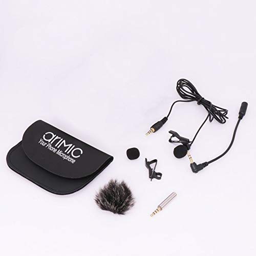 Peanutaoc AriMic 1.5m Lavalier Lapel Microfoon Omnidirectionele Microfoon