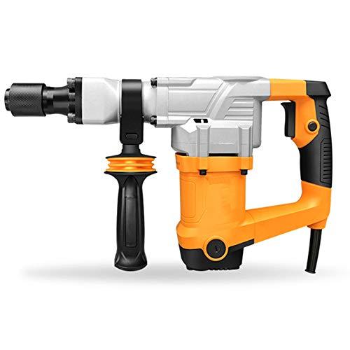 JIN GUI Elektro-Bohrhammer, Meißel-Bohrer-Entfernungsset, 360 ° Bohrhammer, zur Reparatur von Ziegeln, Holz und Stahl geeignet.