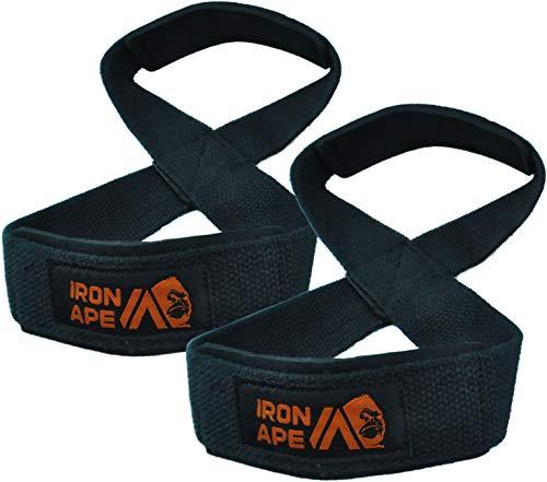 IRON APE 8 Gurte, für Kreuzheben, Gewichtheben, Shrugs, Gewichtheben Geeignet für Männer und Frauen, Einsteiger, Mittelklasse.