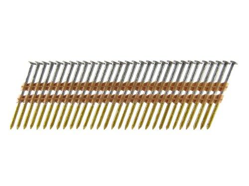 B & C Eagle Protège-arbres Style spirale X 120hdr/22 Tête ronde 3–1/10,2 cm X .120 X 22 ° galvanisé chaud Bague Tige Plastique Liasse de Cadrage ongles (500 par boîte)