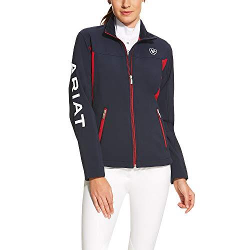 Womens New Team Navy Blue Softshell Jacket
