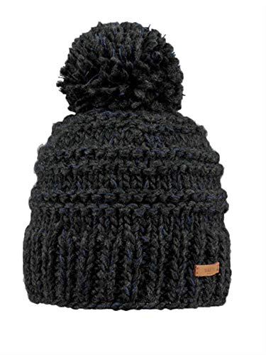 Barts W Jasmin Beanie Grau, Damen General, Größe One Size - Farbe Dark Heather