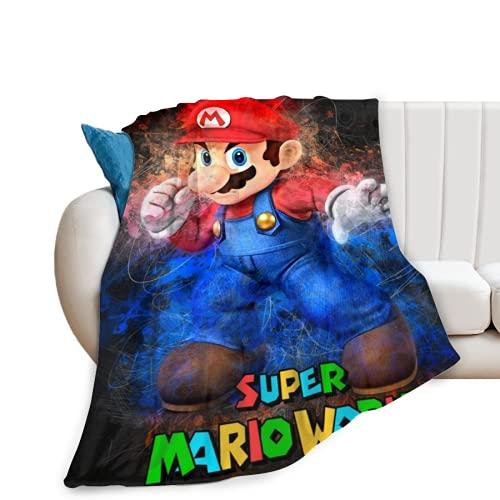 Manta de Franela de Super Mario Elegante
