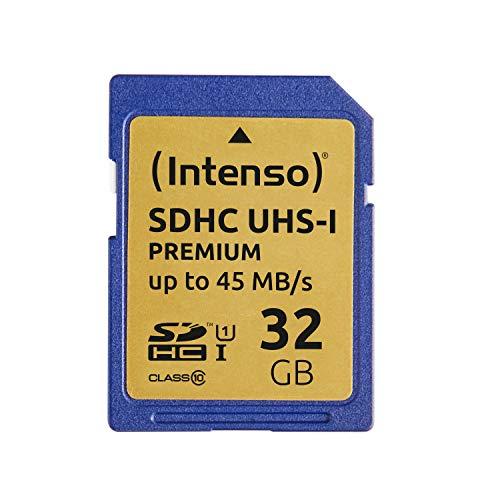 Intenso SDHC UHS-I 32GB Class 10 Speicherkarte blau