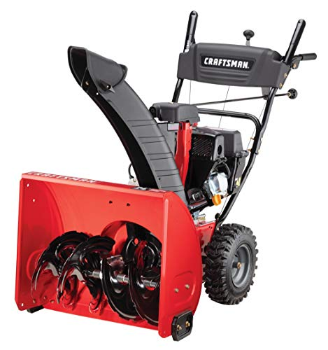 CRAFTSMAN 208cc Electric Start 24' Two Stage Gas Snow Blower