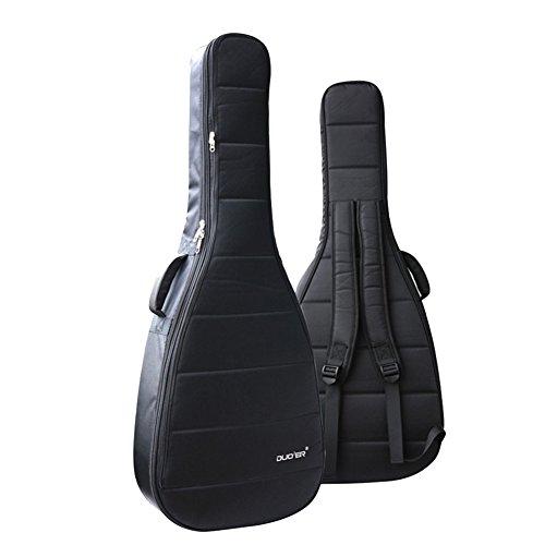 Ele Eleoption resistente al agua Oxford bolsa de guitarra 4041inch Funda Nylon Gig Bolsa Acolchada Bolsa de guitarra eléctrica acústica y clásica, impermeable a prueba de golpes