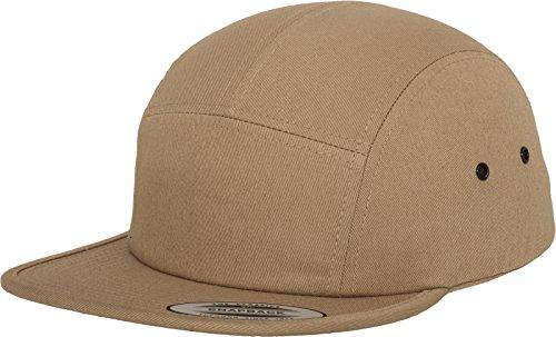 Flexfit Erwachsene Mütze Classic Jockey Cap, Khaki, One size