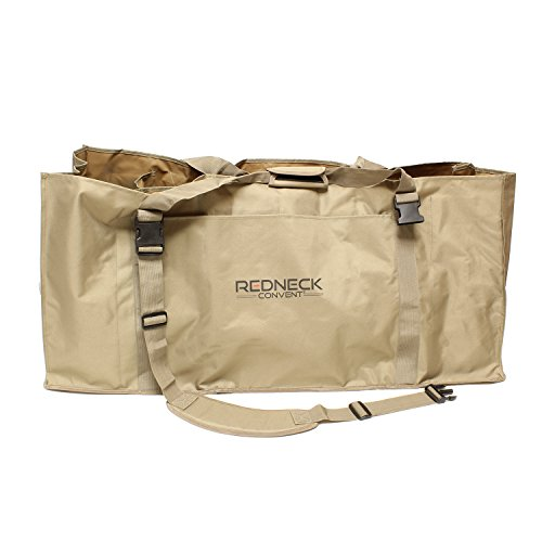 Slotted Decoy Bag, Decoy Bags 12 Slot Decoy Backpack 1-Pack for 12 Decoys – Duck Decoy Bag Hunting Gear Duck Hunting Bag