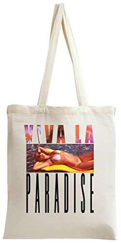 Viva La Paradise Pool Tote Bag