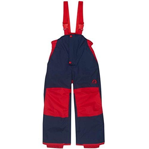 Finkid Toope navy red Kinder Ski & Outdoor Winterhose
