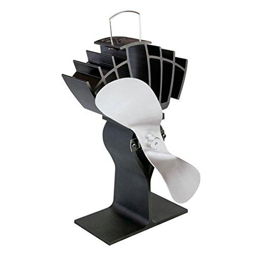 Ecofan 810 Stromloser Ventilator für Holzöfen Nickel