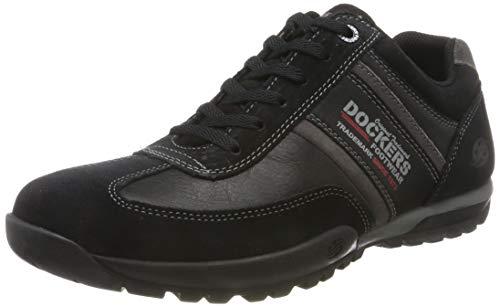 Dockers by Gerli Herren 36HT039 Sneaker, Schwarz (Schwarz 100), 43 EU