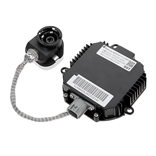 Aupoko Xenon HID Headlight Ballast Replacement for Infiniti and Nissan, Headlight Control Unit with Ignitor, Replaces# NZMNS111LANA, NZMNS111LBNA, 28474-89904, 28474-89907, 28474-8991A