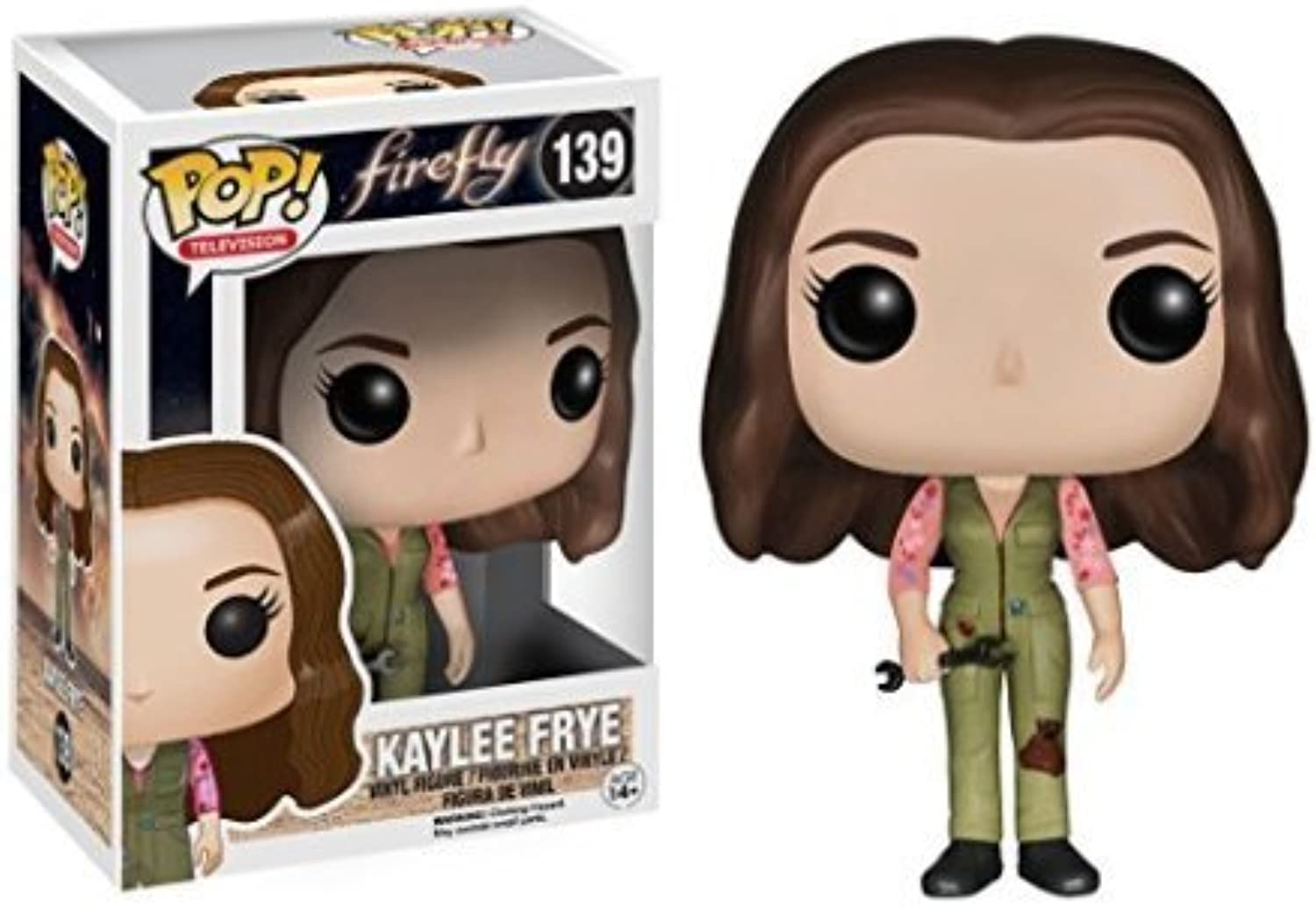 Funko POP TV  Firefly - Kaylee Frye Vinyl Figure by Dubblebla