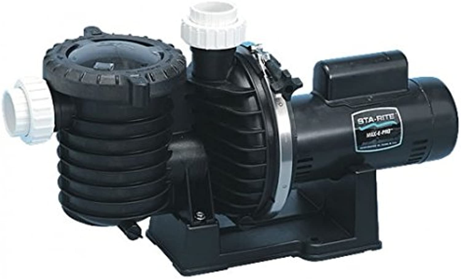 Pentair StaRite P6RA6E205L MaxEPro Standard Efficiency Single Speed Up Rated Pool and Spa Pump, 1 HP, 115 230Volt