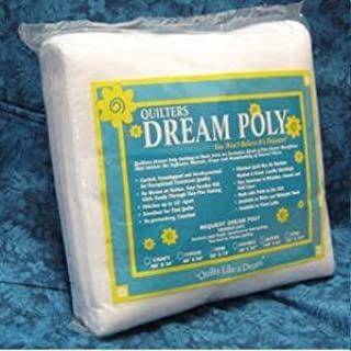 Quilter's Dream Batting- Poly Request- Low Loft - Queen Size 108