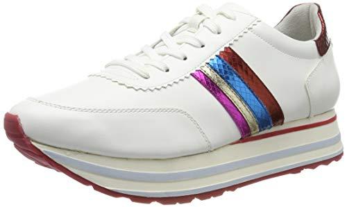 Tamaris Damen 1-1-23771-32 Sneaker, Weiß (White Comb 197), 39 EU