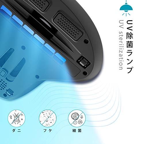 dodocool布団クリーナー400W10kPa布団掃除機強吸引力パワフルたたき布団乾燥機UVランプ除菌ダニ細菌ウィルス除去UV-Cランプ自動OFF安全ふとんクリーナーふとん掃除機4Mコード