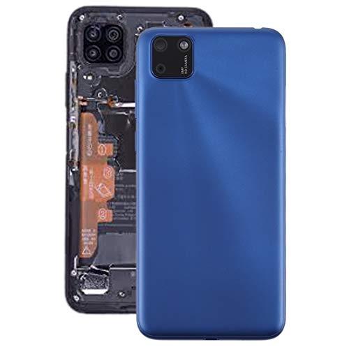 Zhoutao Tapa Trasera del teléfono Cubierta Posterior de la batería con la Cubierta de la Lente de la cámara para Huawei Y5P Piezas de Repuesto del teléfono