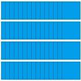 60 Piezas Parches de Reparación de PVC Autoadhesivos Cuadrados, Parche de Vinilo de Revestimiento de Piscina Cauchos de Vinilo de Reparación de Barco para Kayak Balsa Bote Inflable, Azul