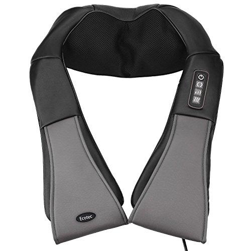 Dispositivo de masajes Shiatsu con función de calor infrarrojo, masaje...