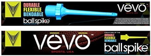 Vevo Sports Ball Spike Inflation Needles USA Durable//Bendable//Flexible.