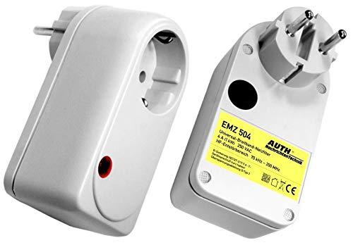 Netzfilter Universal-Breitband mit Überspannungsschutz, Zwischenstecker (3 A, 9 k - 100 MHz ohne Überspannungsschutz)