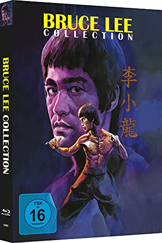 Bruce Lee - Die Collection - 4-Disc Mediabook - Cover B - Limited Edition auf 333 Stück [Blu-ray]