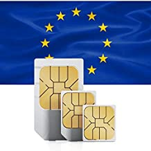 Southwestern Europe (France, Portugal, Spain, Gibraltar, Andorra) Prepaid Data Sim Card 2GB for 30 Days in 71 Countries 3G Nano/Micro/Standard
