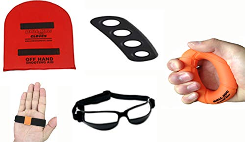Read About Ball Hog Gloves Basketball Training Bundle (Ball Handling & Shooting) (Either)