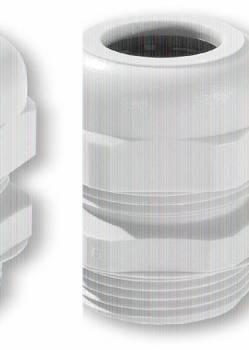 VS-ELECTRONIC - 511175 Kabelverschraubung, PG16, 8-14 mm, Grau 10144