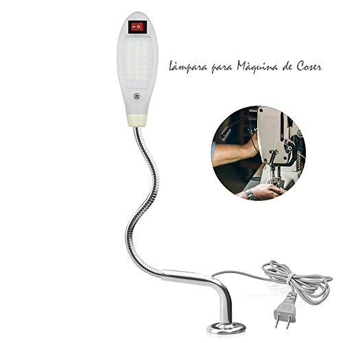 Luxvista Lámpara Costura 21 LED Máquina Coser Luz