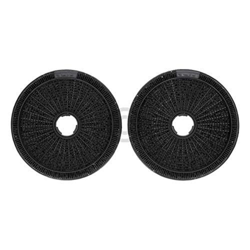 DL-pro Lot de 2 filtres à charbon actif pour hotte Bosch 00796390 DHZ5276 Siemens LZ52751 Neff Z5138X1