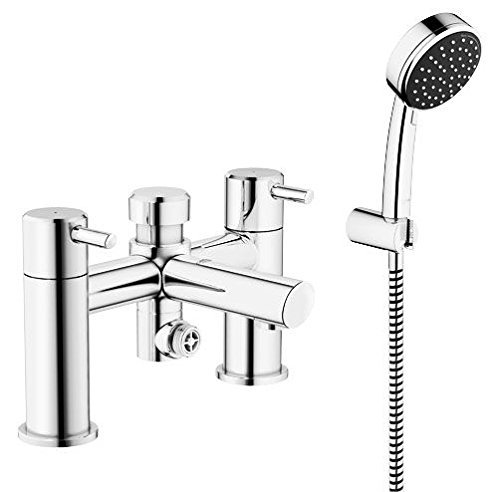 GROHE 25176000 Feel Deck Mounted Bath/ Shower Mixer and Shower Set ...
