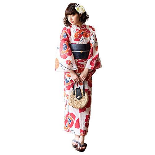 京都きもの町『KIMONOMACHI レディース浴衣3点セット』