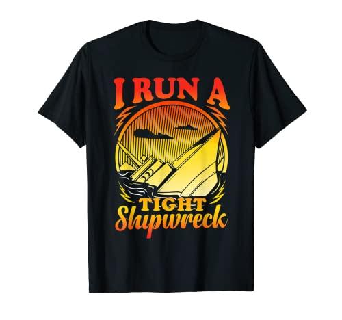 I run a tight Shipwreck T-Shirt