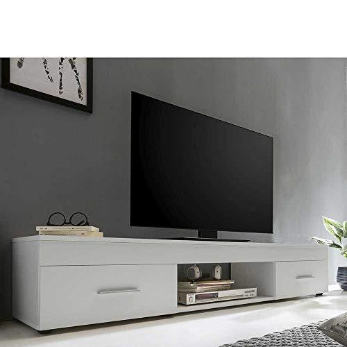 Pharao24 TV Unterschrank in Weiß 160 cm breit