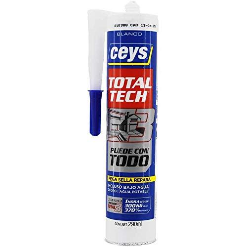CEYS CE507216 Ms-Tech 290 ml, Blanco 507216, 0